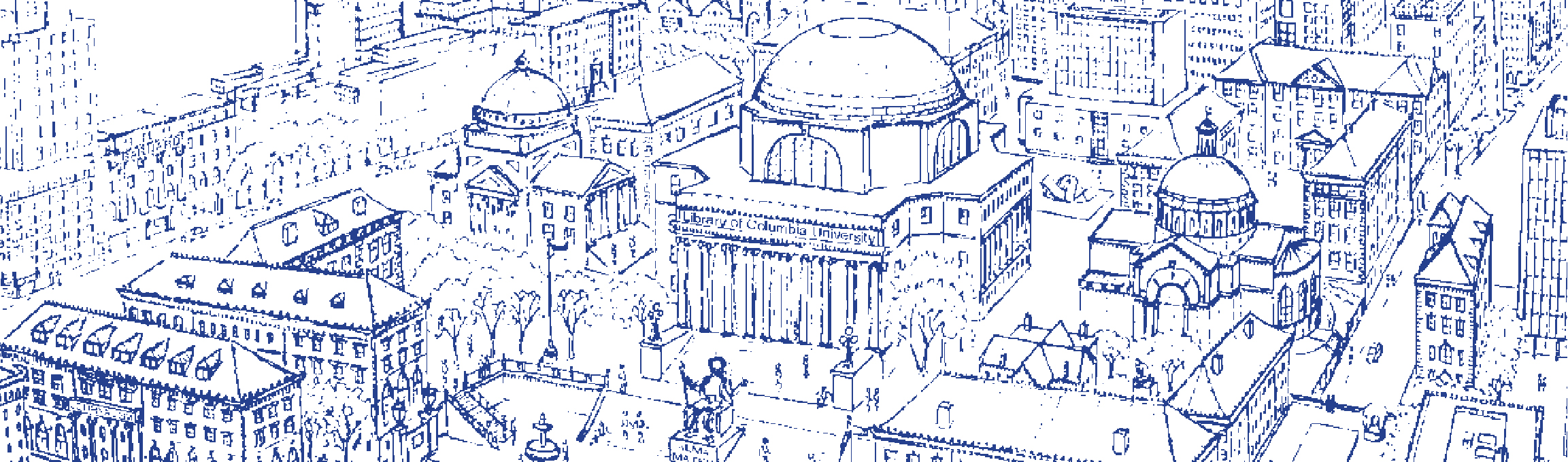 Sketch of Columbia Campus