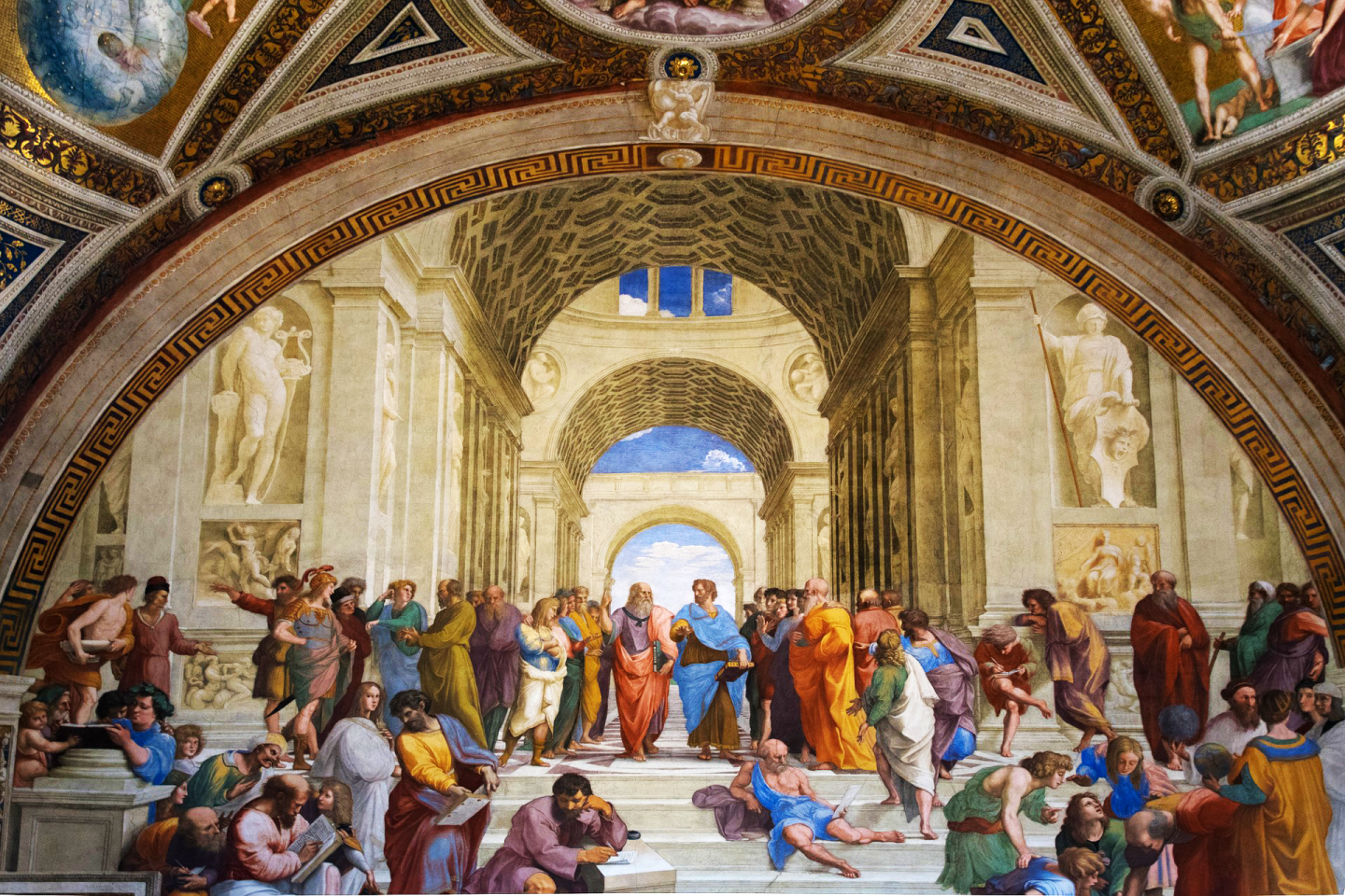 """""""The School of Athens"""" by Raphael"""