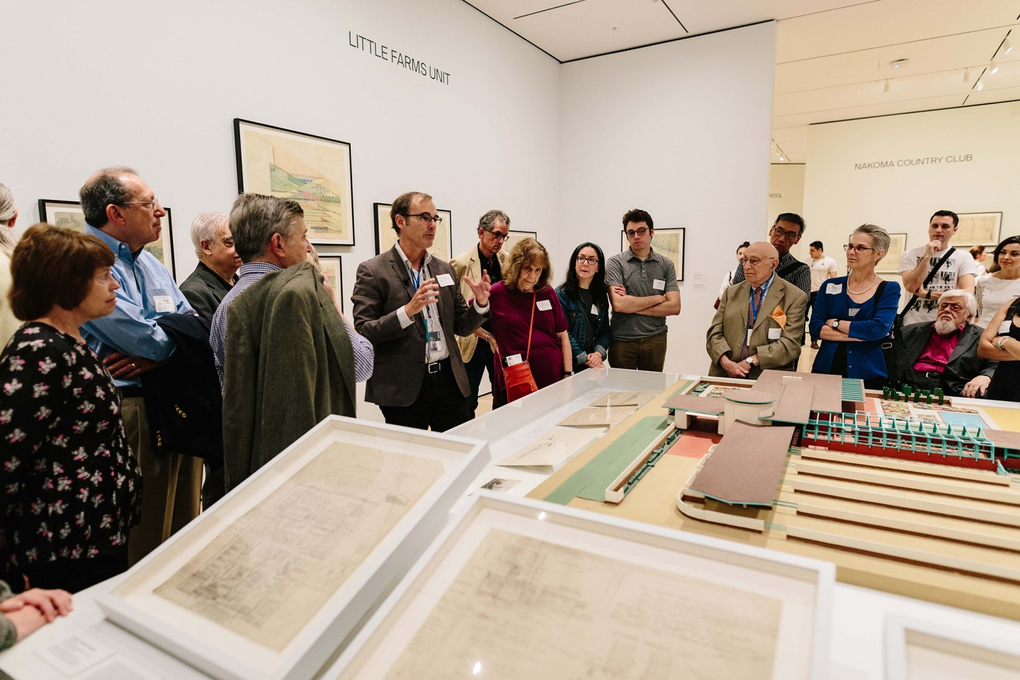 Dr. Barry Bergdoll leads tour at MoMA