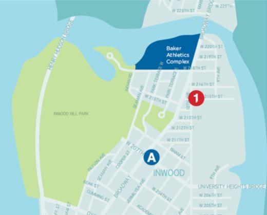 Baker Field Map - Barrel CCAA Website Template