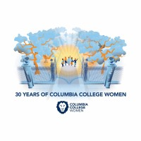 COLUMBIA 30 LOGO_FINAL_WHITE_Logo Square web