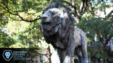 Campus lion