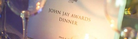 Photo from John Jay Awards Dinner