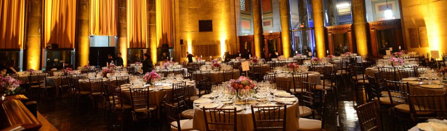 Photo of Low Library from the 2014 Alexander Hamilton Dinner
