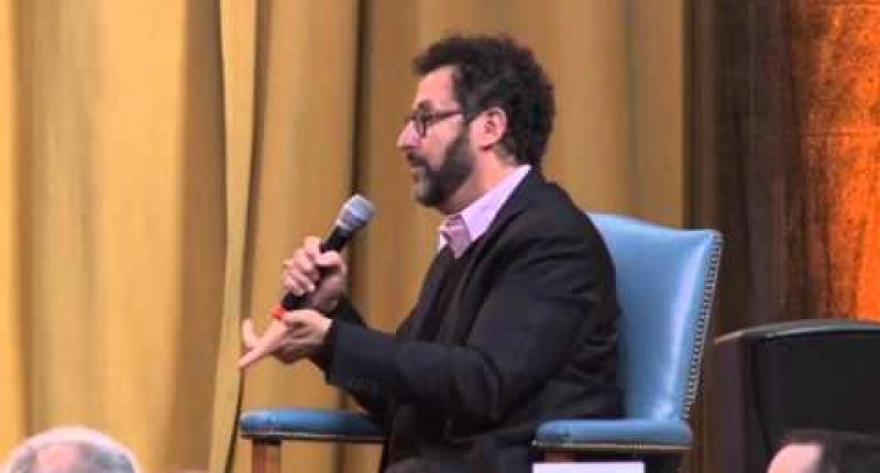 Pulitzer Prize-winner Tony Kushner CC'78 provided a candid look at his experience as a Columbia student.