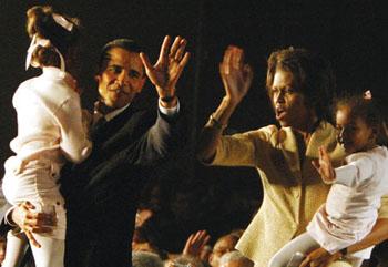 Obama & Family
