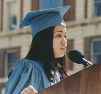 Salutatorian Denise De Las Nueces