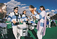 The Columbia Marching Band