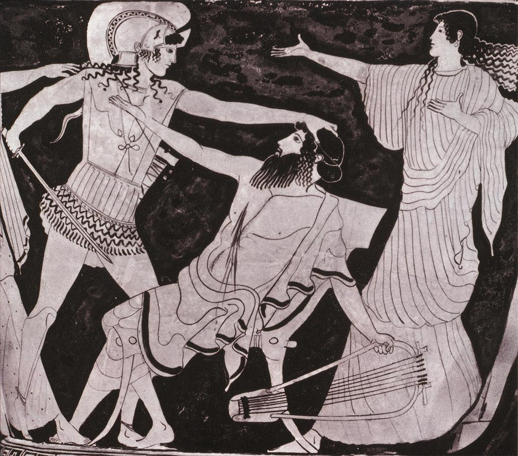 an analysis of the chorus in the oresteia by aeschylus Learn about the aeschylus trilogy of plays called the oresteia, a story about the atreides blood-feud after the trojan war in greek history  the oresteia by aeschylus: summary & themes .