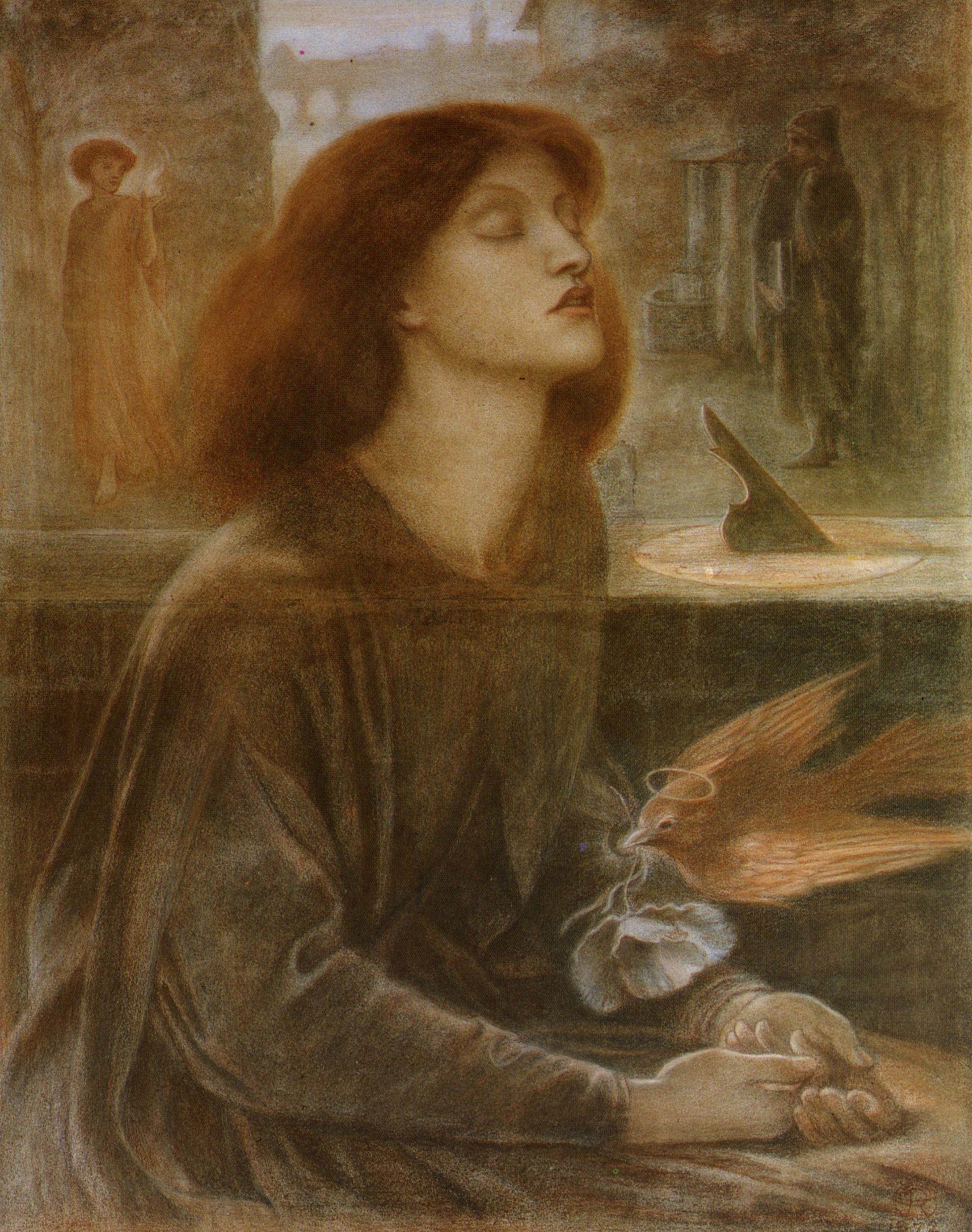 Dante Gabriel Rossetti Beata Beatrix
