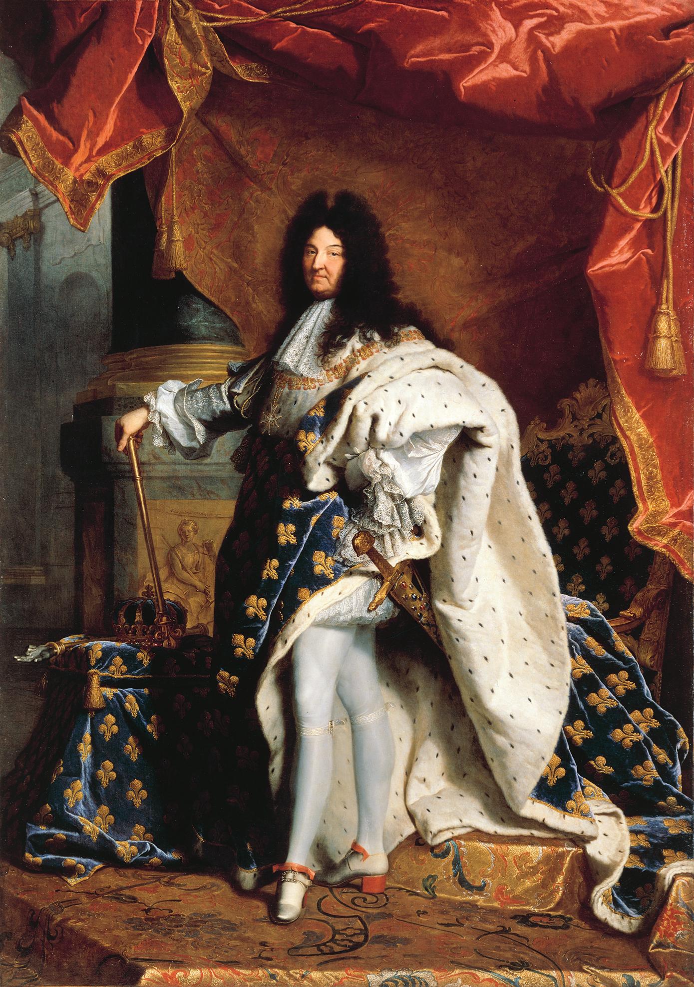 b1ec004acc0 Portrait of Louis XIV of France