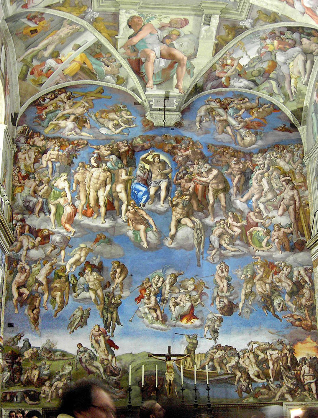 michelangelo buonarrotis the last judgement essay Sistine chapel, christian art, final judgment - michelangelo's fresco the last  judgment  essay about michelangelo's last judgment- barnes critique  his  father was ludovico buonarroti, a florentine official with connections to the ruling .