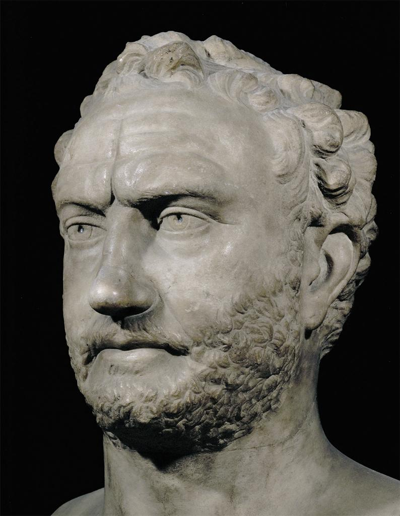 Bust of Thucydides. 3rd c. BCE: Louvre Museum. Paris, France. ArtStor: Erich Lessing Culture and Fine Arts Archives