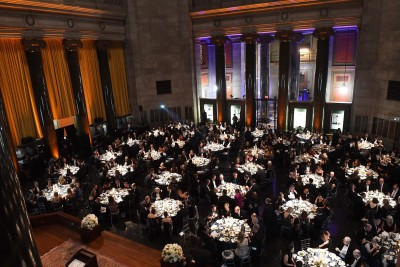 Guests seated at the 2017 Hamilton Awards Dinner