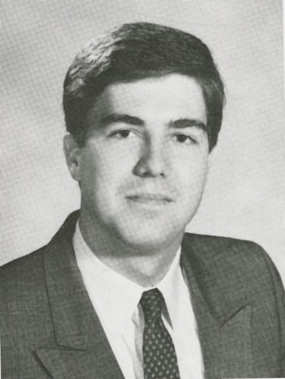 Neil Gorsuch CC'88's yearbook photo