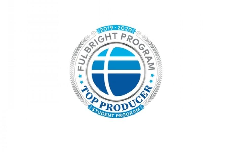 Fulbright Program Top Producer badge