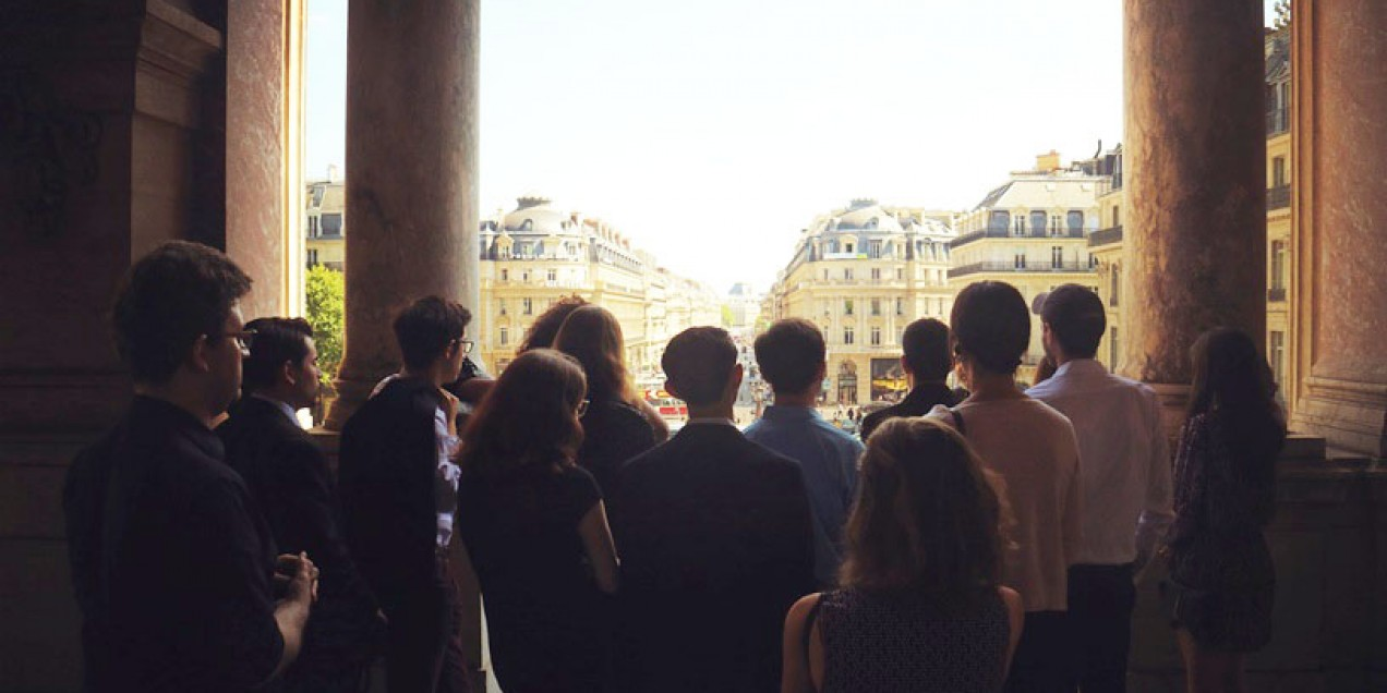 Students in Paris