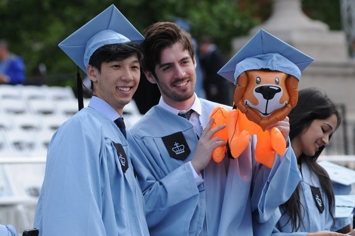 Columbia University Commencement
