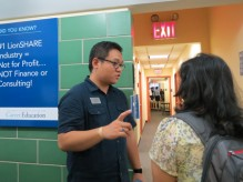 "During the event, the walls featured ""Did You Know?"" signs with facts about CCE."