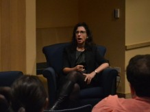 Kantor spoke to students at Hillel (Photo: Ron Shapiro).