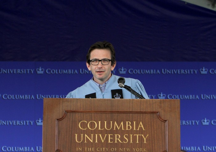 Dan Futterman CC '89 was the keynote speaker at Class Day on May 20.