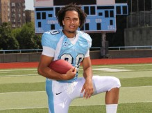 Columbia defensive back Tyler Hamblin