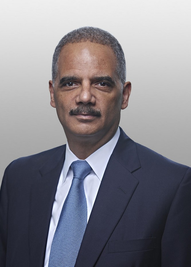 Eric H. Holder Jr. CC'73, LAW'76. Photo: Delane Rouse