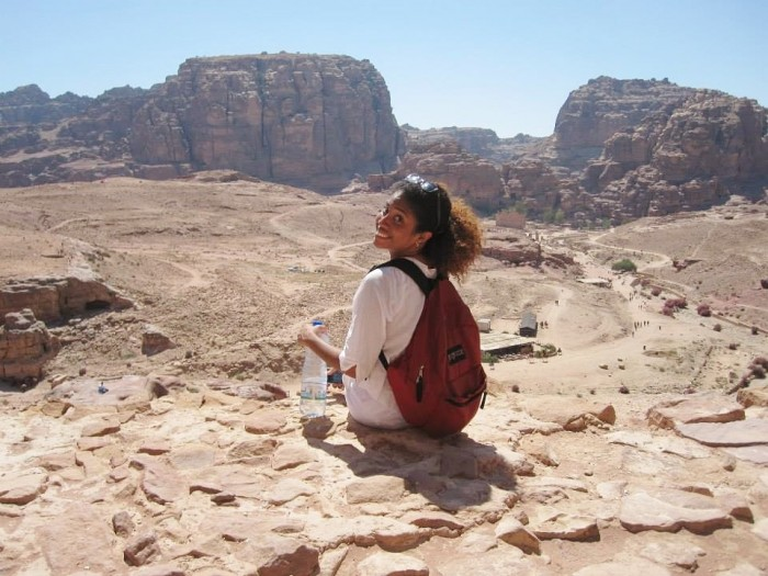 Monique Williams CC'17, Presidential Global Fellow in Jordan. Photo: Courtesy Monique Williams CC'17