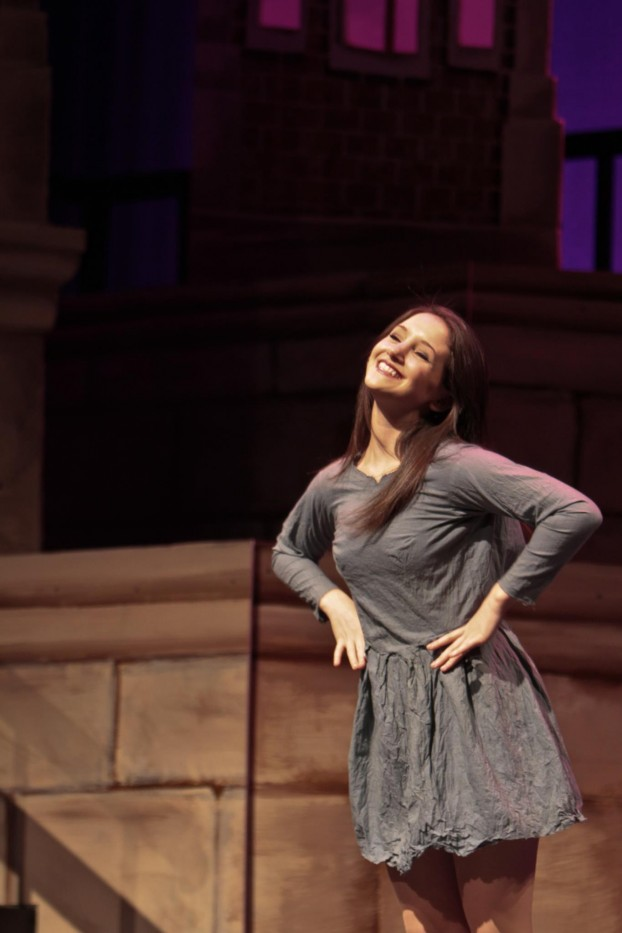 Rebekah Lowin CC '14 performs in the 118th Varsity Show. Photo: Courtesy Rebekah Lowin CC '14