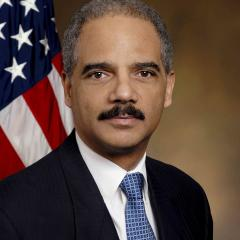 Photo of Eric H. Holder CC'73, LAW'76