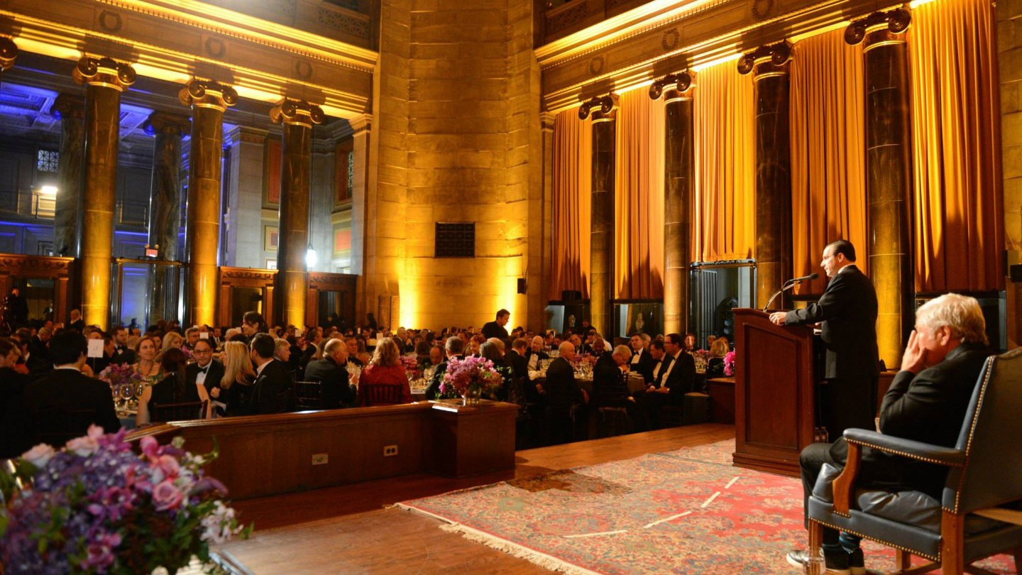 Photo from 2014 Alexander Hamilton Awards Dinner