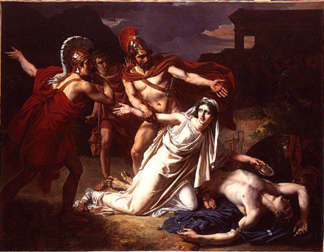 Image of Scene from Antigone