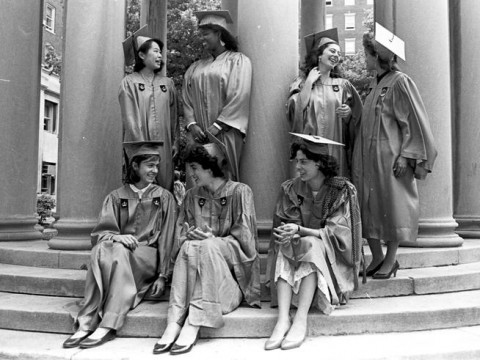 Excellent History Of Women At Columbia College Columbia College Download Free Architecture Designs Scobabritishbridgeorg
