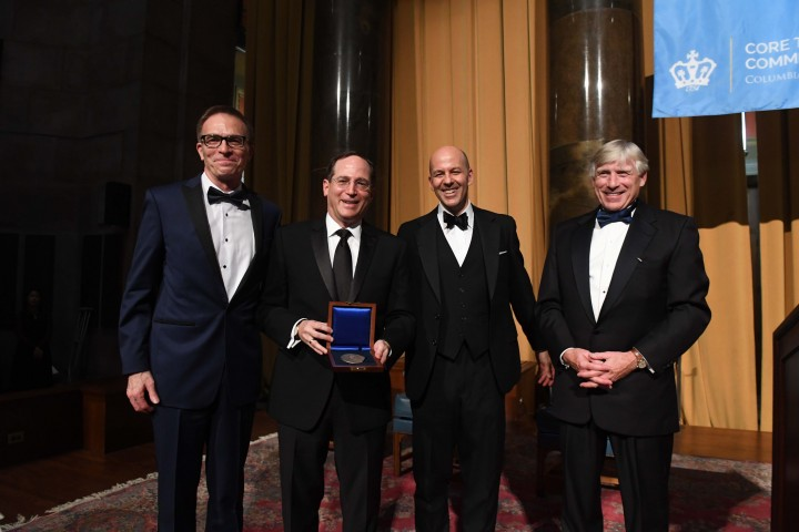 Hamilton Dinner 2017 honoring Jonathan Lavine CC'88