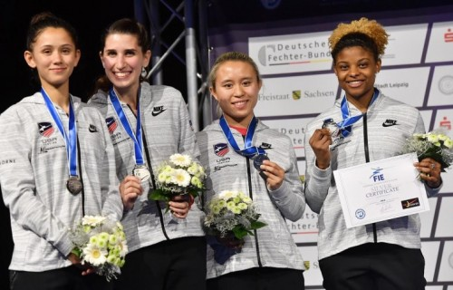 CC Alumnae at 2017 FIE World Championships