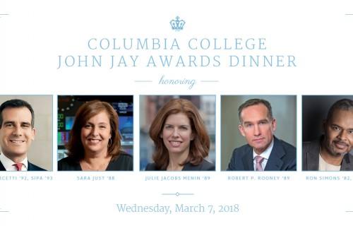 2018 John Jay Honorees