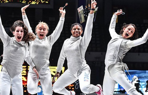 Women's Foil 2018 Winners