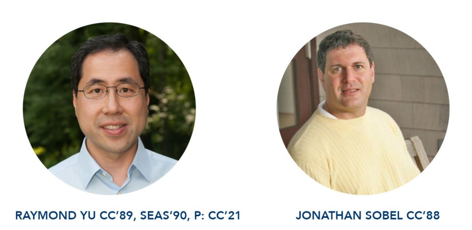 Raymond Yu and Jonathan Sobel