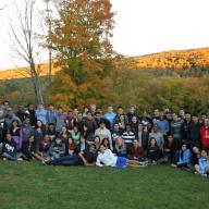 Members of the Columbia College Student Council and Columbia College Class Councils joined fellow campus leaders at Student Engagement's first combined Council and Governing Board Leadership Retreat. Photo: Josh Lucas