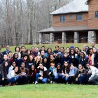 Multicultural Affairs enhanced student connections to the Columbia community at the annual Students of Color Leadership Retreat, held at the Frosty Valley YMCA in Claryville, NY, for 50 participating students. Photo: Roshawn Johnson