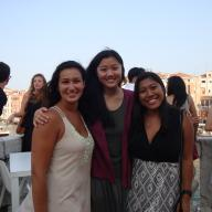 On June 24, the Columbia Italian Cultural Studies in Venice summer program celebrated its 10th anniversary with a reception at the Palazzo Barbarigo della Terrazza in Venice, overlooking the Canal Grande. The reception was attended by the program's current students and faculty, as well as representatives from Ca' Foscari University and the Peggy Guggenheim Collection Museum in Venice. Photo: Laura Schiff
