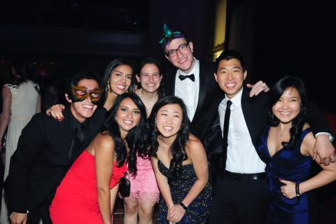 The Class of 2014 held a masquerade ball celebrating their myriad personal and academic accomplishments as Columbia undergraduates. Photo: LifeTouch Photography