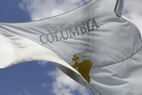 Columbia College flag photo
