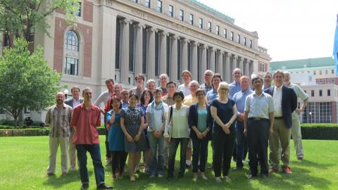 This summer, Columbia College welcomed 26 faculty members from 13 institutions from across the United States, Europe, and China to participate in a two-week intensive workshop on designing and teaching Core courses. Photo: Elena Hecht