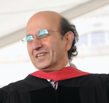 NYC Department of Education Chancellor Joel Klein '67 (above), the keynote speaker at Class Day, urged graduates to take chances and not be afraid of twists and turns in their career paths. The text of his speech can be found here. Photos: Eileen Barroso