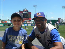 Fernando Perez '04 was a member of the minor-league Durham Bulls when he befriended 7-year-old Teddy Freeman.