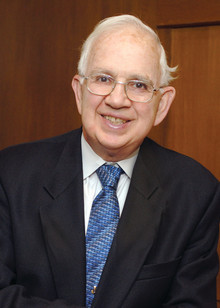 Rabbi Harold Kushner '55's bestselling book, When Bad Things Happen to Good People, touched readers worldwide. He has since written nine more books. PHOTO: Lewis Glass, Paradise Photo