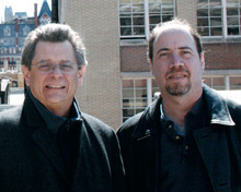 Co-translators Pablo Medina (left) and Mark Statman '80 have published a new version of Federico García Lorca's Poeta en Nueva York, a book inspired by the famous poet's time at Columbia. PHOTO: JESSE STATMAN