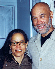 O'Meally with his wife, Jacqui, a professor of theater and dance at Queens College. Photo: Courtesy of Robert G. O'Meally