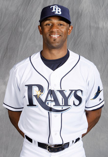 Perez gave Tampa Bay Rays manager Joe Maddon a valuable pinch-running weapon when he was brought up to the Rays for their stretch run to the 2008 American League Championship. Photo: Tampa Bay Rays – Skip Milos